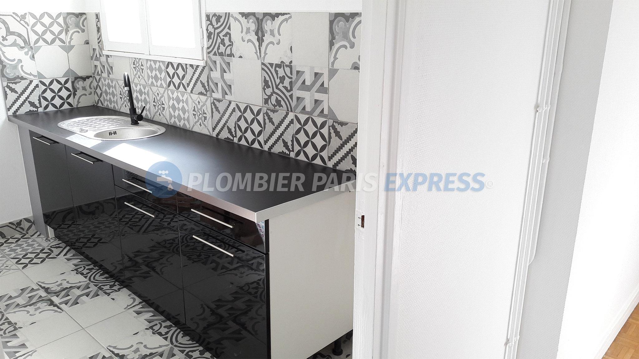 renovation cuisine paris plombier paris express. Black Bedroom Furniture Sets. Home Design Ideas